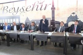 """Başkan Bayındır: """"Beyşehir'in derdi, hepimizin derdidir"""""""