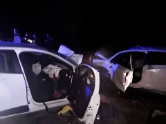 Konya'da iki otomobil çarpıştı: 6 yaralı
