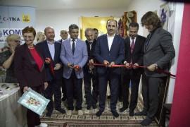 Başkan Altay, Saraybosna KOMEK Sergisinin açılışını yaptı