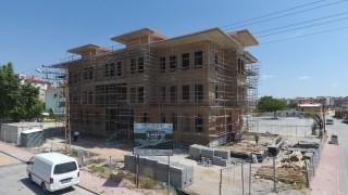 Karatay Belediyesinden Köprübaşı Polis Karakoluna yeni hizmet binası