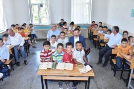Başkan Kılca mezun olduğu okulu ziyaret etti