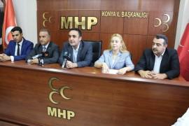 MHP Konya il teşkilatı bayramlaştı