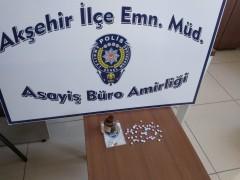 Konya'da uyuşturucu baskını: 1 gözaltı