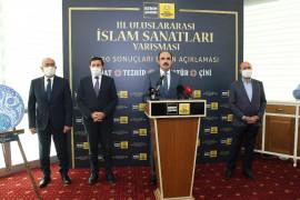 3. Uluslararası İslam Sanatları Yarışması'nın kazananları belli oldu