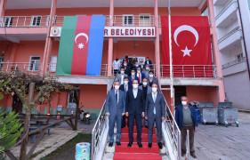 """Başkan Altay: """"El birliğiyle ilçelerimizin gelişimine katkı sağlıyoruz"""""""