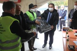 Beyşehir'de, İzmir depremzedeleri için yardım seferberliği sürüyor