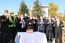 Beyşehir'de Yeni Ravza Camisi'nin yapımına dualarla başlandı