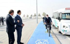 Bisiklet şehrinde roller değişti