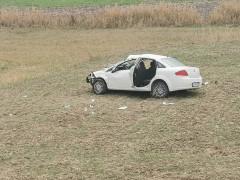 Filyasyon ekibi kaza yaptı: 4 yaralı