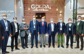 Golda Gıda yeni ürün gamını EXPO 2020'de tanıttı