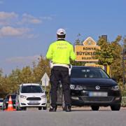 Konya'da 2 bin 15 sürücüye ceza