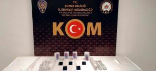 Konya'da 692 bin 476 tablet kaçak tıbbi ilaç ele geçirildi