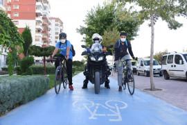 Konya'da bisiklet yolu işgalleri için Bisiklet Yolu Kontrol Zabıtası oluşturuldu
