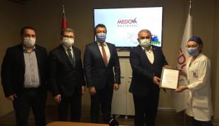 Medova Hastanesine ödül