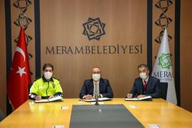 Meram Belediyesi'nden trafik eğitimi projesi