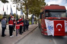 Selçuklu Belediyesi İzmir'e yardım elini uzattı