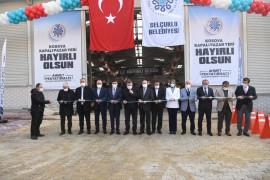 Selçuklu'da Kosova Kapalı Pazar Yeri açıldı