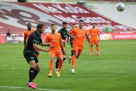 Süper Lig: Konyaspor: 0 – M. Başakşehir: 1 (İlk yarı)