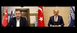 """TDBB Başkanı Altay: """"Konya ile Bosna'nın kalbi birlikte atar"""""""