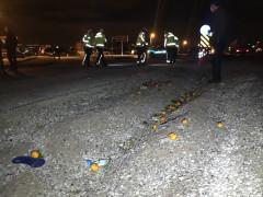 Aldığı portakalları evine götüremeden kazada öldü