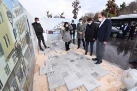 Başkan Altay, Alaaddin cephe düzenleme çalışmalarını inceledi