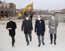 """Başkan Altay: """"Mevlana Çarşısı ve Altın Çarşı Konya'ya yakışır hale gelecek"""""""
