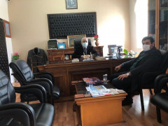 Başkan Çiğdem'den Müftü Gündüz'e ziyaret