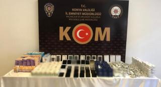 Konya'da 2 ton 150 kilogram sahte deterjan ele geçirildi