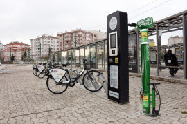Konya'da bisiklet tamir istasyonlarının sayısı artırıldı