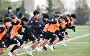 Konyaspor, Altınordu maçı hazırlıklarını tamamladı