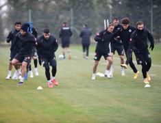 Konyaspor, Kayserispor maçı hazırlıklarına başladı