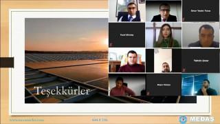 MEDAŞ'tan lisanssız güneş enerji santralleri kabul eğitimi