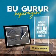 """""""Yılın Havacısı"""" ödülü KTO Karatay Üniversitesi'nin oldu"""