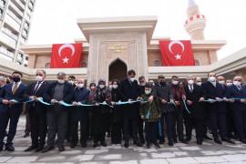 Bakan Kurum, şehidin ismi verilen Yunus Mermer Cami'sinin açılışına katıldı