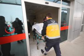 Dumandan etkilenen yaşlı kadının yardımına bu kez sağlık ekipleri yetişti