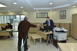 Karatay Belediyesi Hizmet Masası'na 2020'de 37 bin 700 başvuru yapıldı