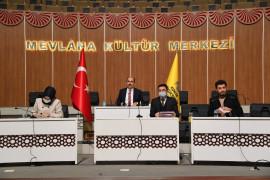 Konya Büyükşehir'de 2021 yılının ilk meclis toplantısı yapıldı