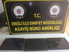 Konya'da hırsızlık şüphelisi tutuklandı