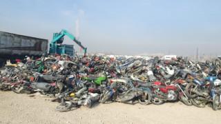 Konya'da otoparka çekilen bin 806 araç MKE'ye gönderildi