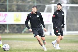 Konyaspor, Karagümrük maçı hazırlıklarına başladı