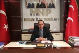 """MHP'li İbrahim Ay: """"Türk Milleti, milli birlikten yana olacaktır"""""""