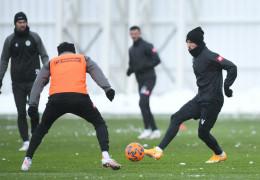 Konyaspor, Yeni Malatyaspor hazırlıklarını sürdürdü