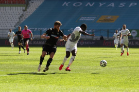 Süper Lig: Konyaspor: 0 – Denizlispor: 0 (İlk yarı)