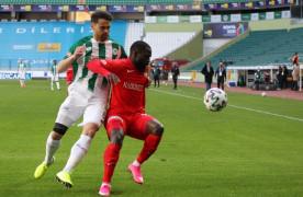 Süper Lig: Konyaspor: 0 – Gaziantep FK: 0 (İlk yarı)