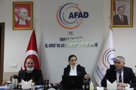 """AFAD Konya İl Müdürü Tosun: """"2021 yılı Türkiye'de afet eğitim yılı olacak"""""""