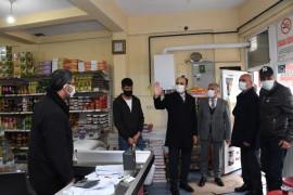 Başkan Altay ve Hasan Angı ilçelerde ziyaretlerde bulundu