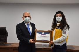 Konya'da 112 Acil Sağlık çalışanlarına teşekkür belgesi