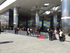 Konya'da alışveriş merkezinde yangın