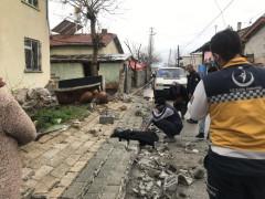 Konya'da çöken duvarın altında kalan 5 yaşındaki çocuk öldü