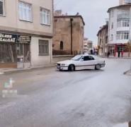 Konya'da trafiği tehlikeye sokan sürücü sosyal medya paylaşımından yakalandı
